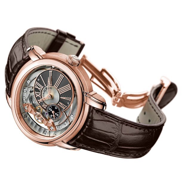 Audemars Piguet 18k Rose Gold Millenary 4101 Automatic.