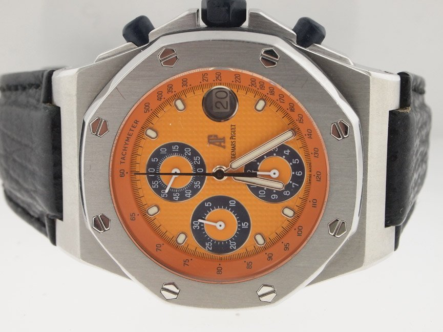 Audemars Piguet Royal Oak Offshore Chronograph Orange.