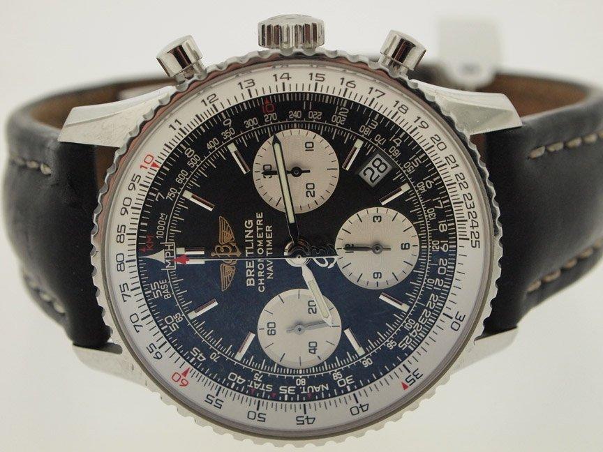 Breitling Mens SS Navitimer A23322 Chronograph.