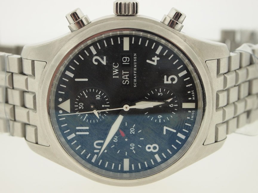 IWC Mens Pilot Day Date Chronograph Automatic.
