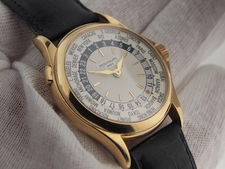 Patek Philippe 18k Yellow Gold World Time 5110J