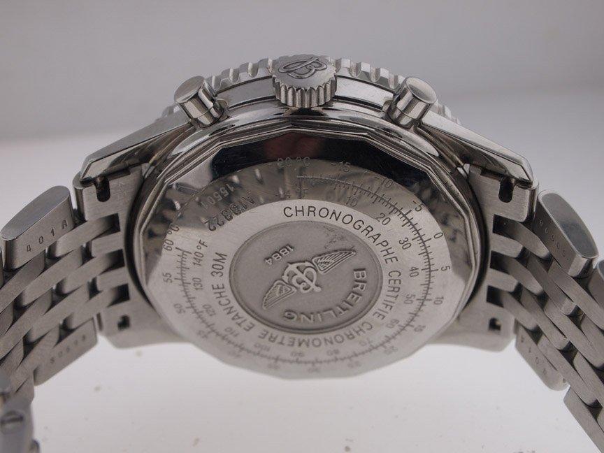 Breitling Mens SS Navitimer A13322 on Bracelet. - 3