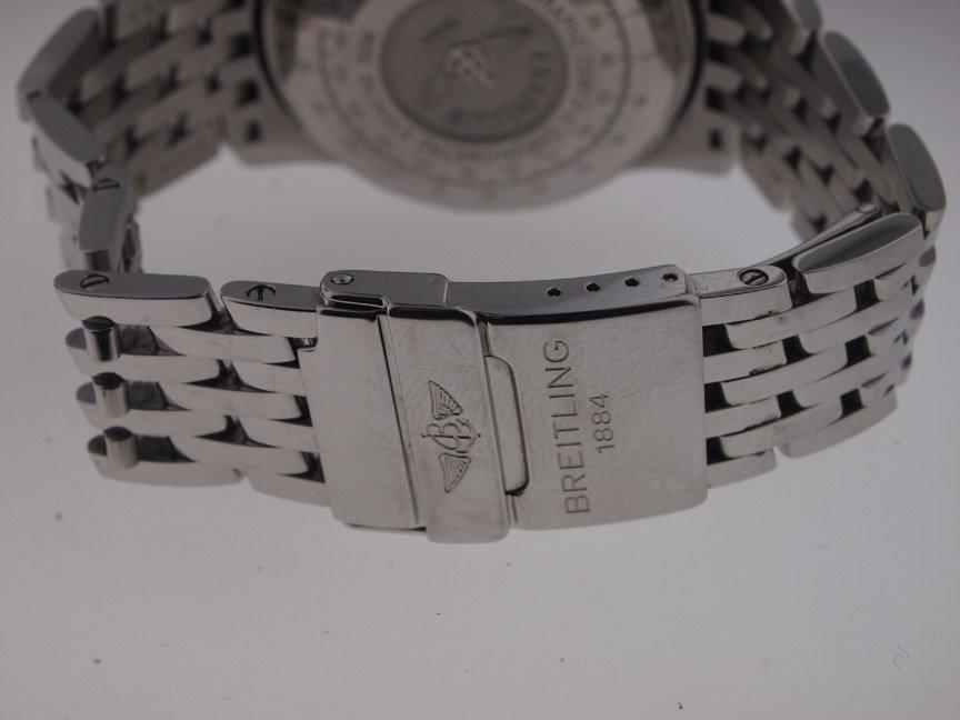 Breitling Mens SS Navitimer A13322 on Bracelet. - 4