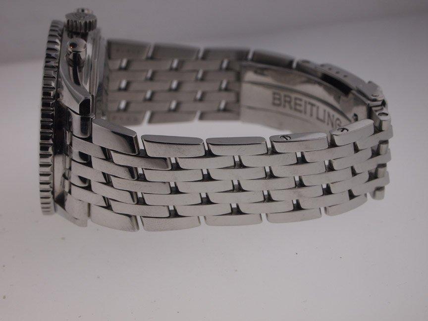 Breitling Mens SS Navitimer A13322 on Bracelet. - 5