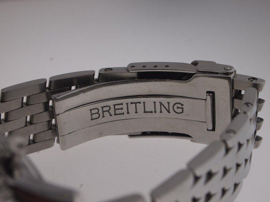 Breitling Mens SS Navitimer A13322 on Bracelet. - 6