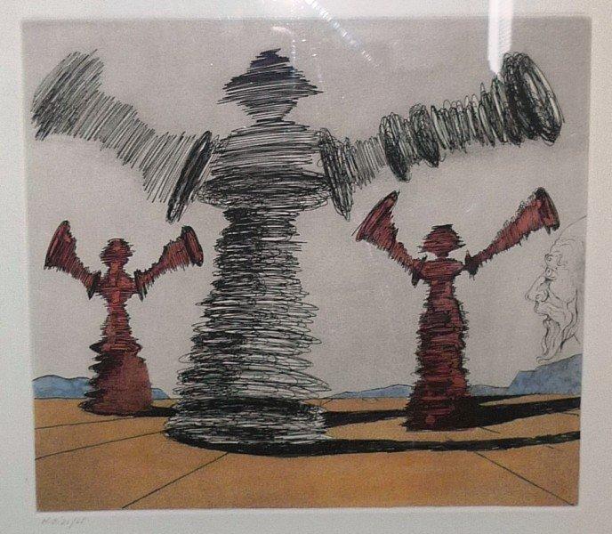 "22: Salvador Dali ""The spinning man"""