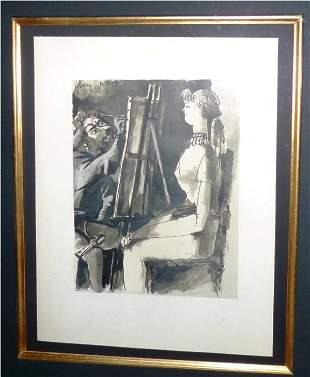 """Pablo Picasso """"The verve suite"""""""