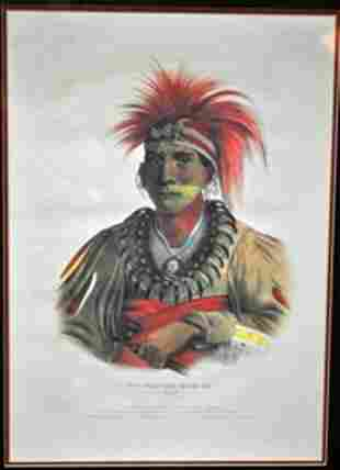 PRINTED AND COLORED LITHOGRAPH BY JAMES G. CLARK.