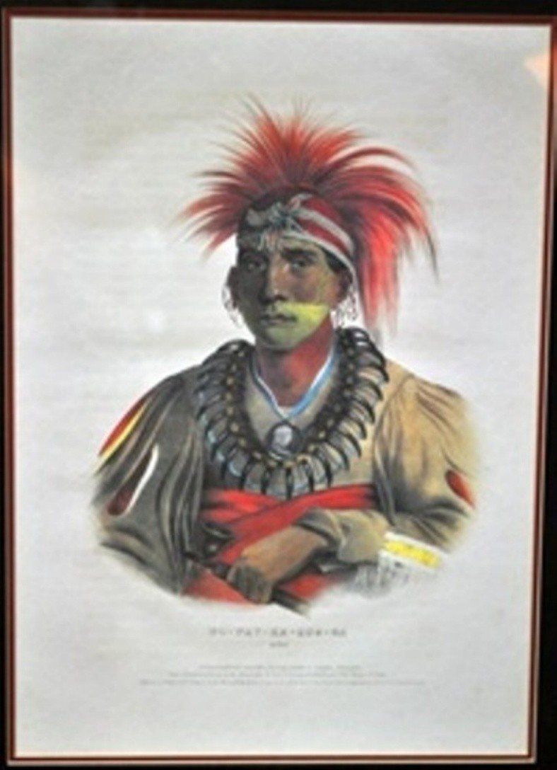 12: PRINTED AND COLORED LITHOGRAPH BY JAMES G. CLARK.