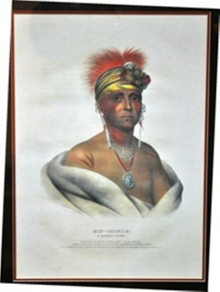 13: PRINTED AND COLORED LITHOGRAPH BY JAMES G. CLARK.