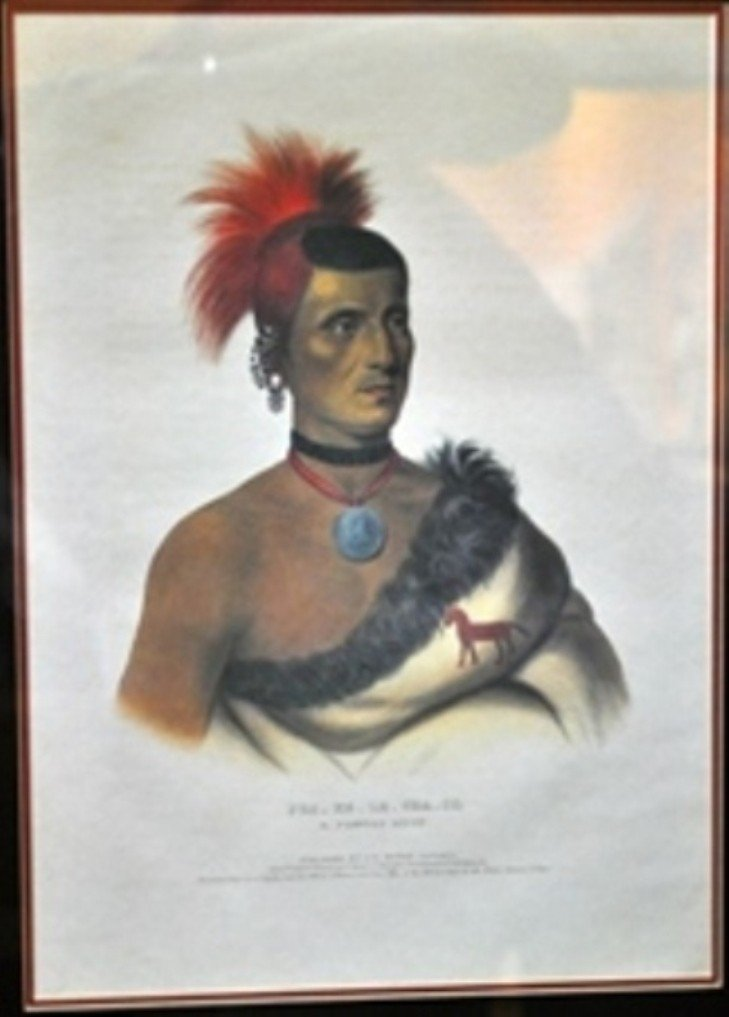 14: PRINTED AND COLORED LITHOGRAPH BY JAMES G. CLARK.