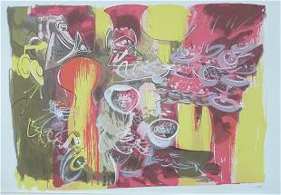 Roberto Matta Signed and Numbered Lithograph