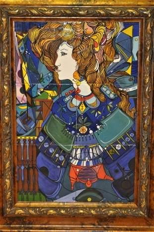 JOSE MIJARES Cuba / Florida o/c large mosaic