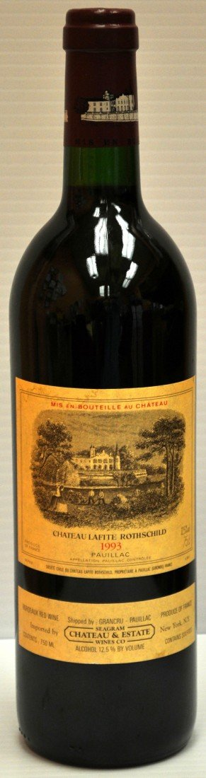 300: Chateau Lafite Rothschild 1993 Pauillac Bottle