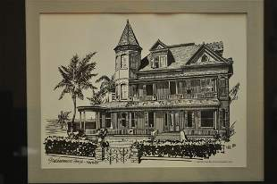"""""""Southmost House-Key West"""" Print by Lee"""