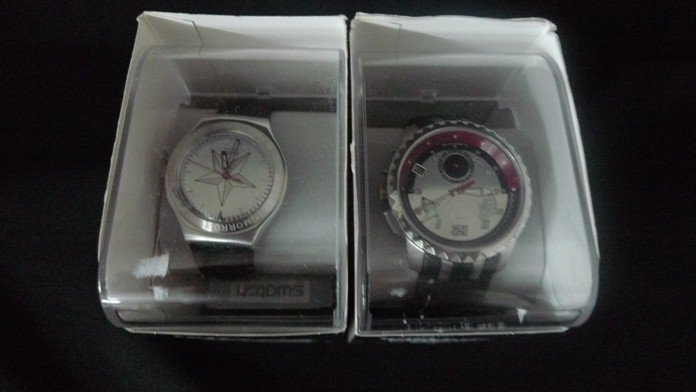 119: James Bond Collectible Swatch Watches - 2