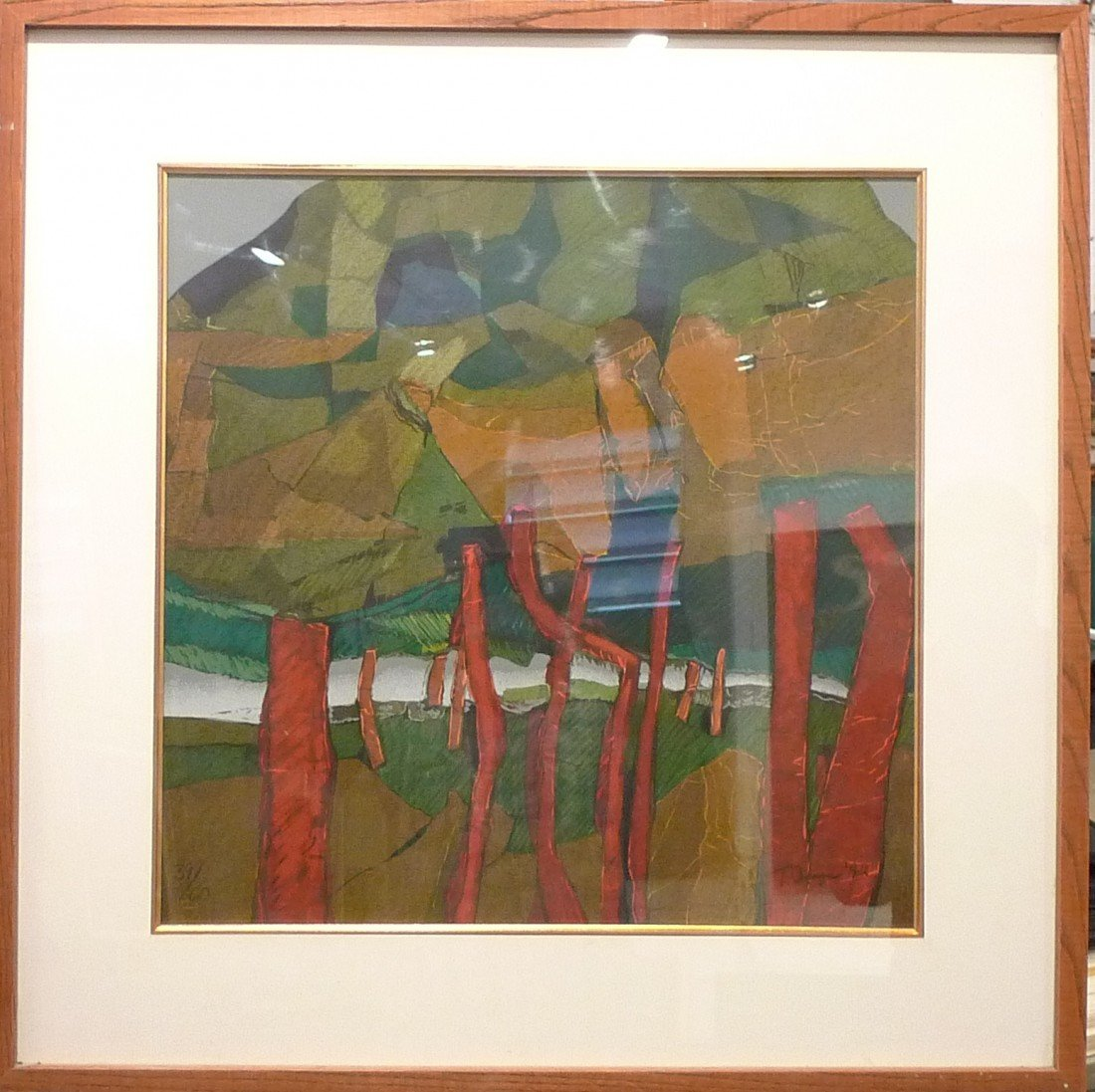 9: Abstract Litho