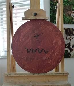 1: Jose Bedia Acrylic On Canvas