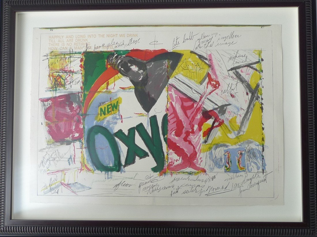 "9: James Rosenquist ""One Cent Life"""