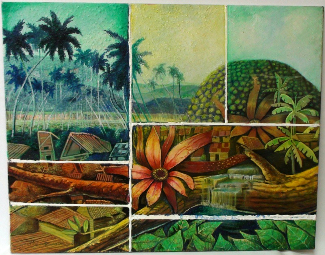 10: MAKAM (CUBAN) OIL ON CANVAS 2011