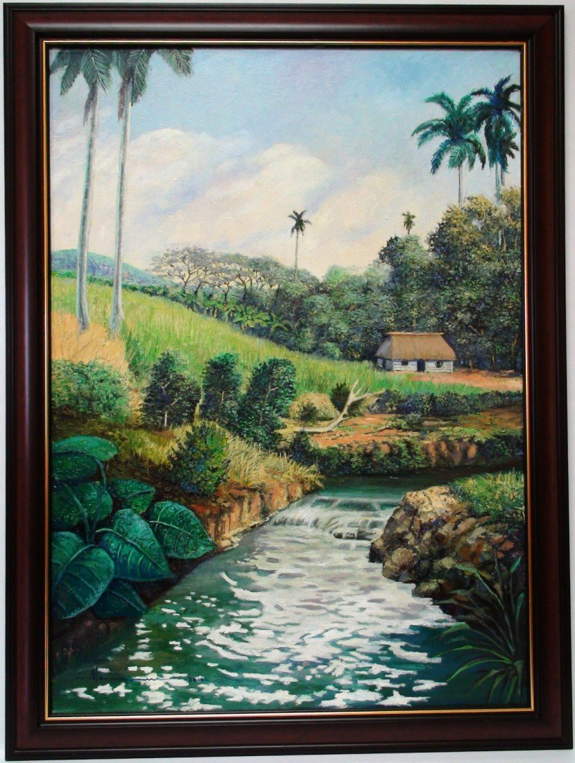 12: MAKAM (CUBAN) OIL ON CANVAS 2011