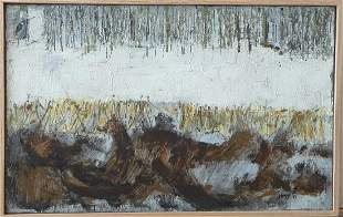 """Rudi Pozzatti """"Winter Landscape"""""""
