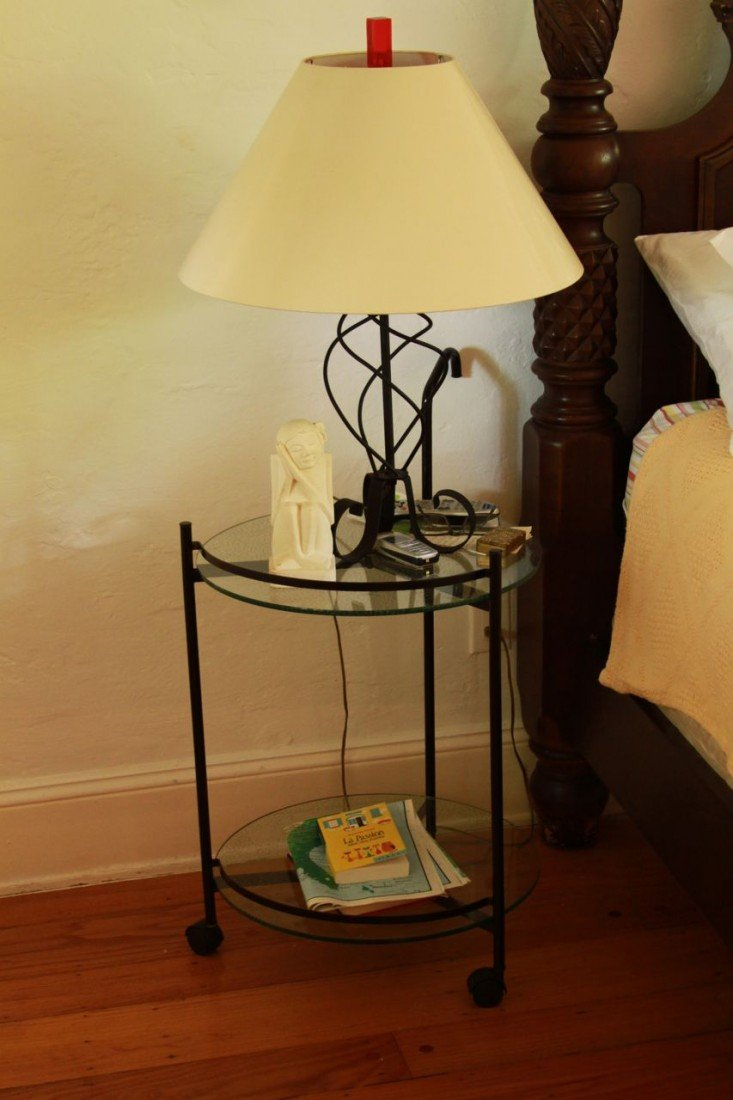 4: Wrought Iron table lamp