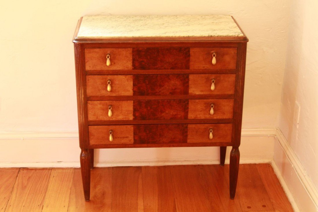 10: Art Deco Marble Top Washstand
