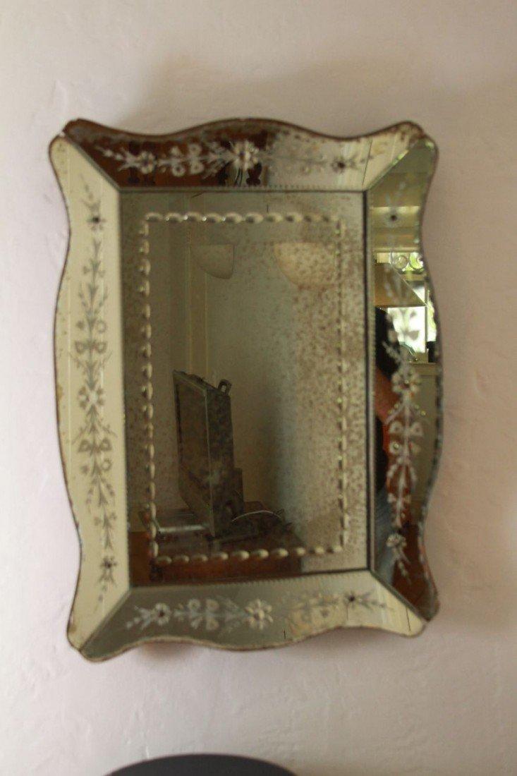 11: Venetian Glass mirror