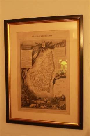 Pair of Antique maps