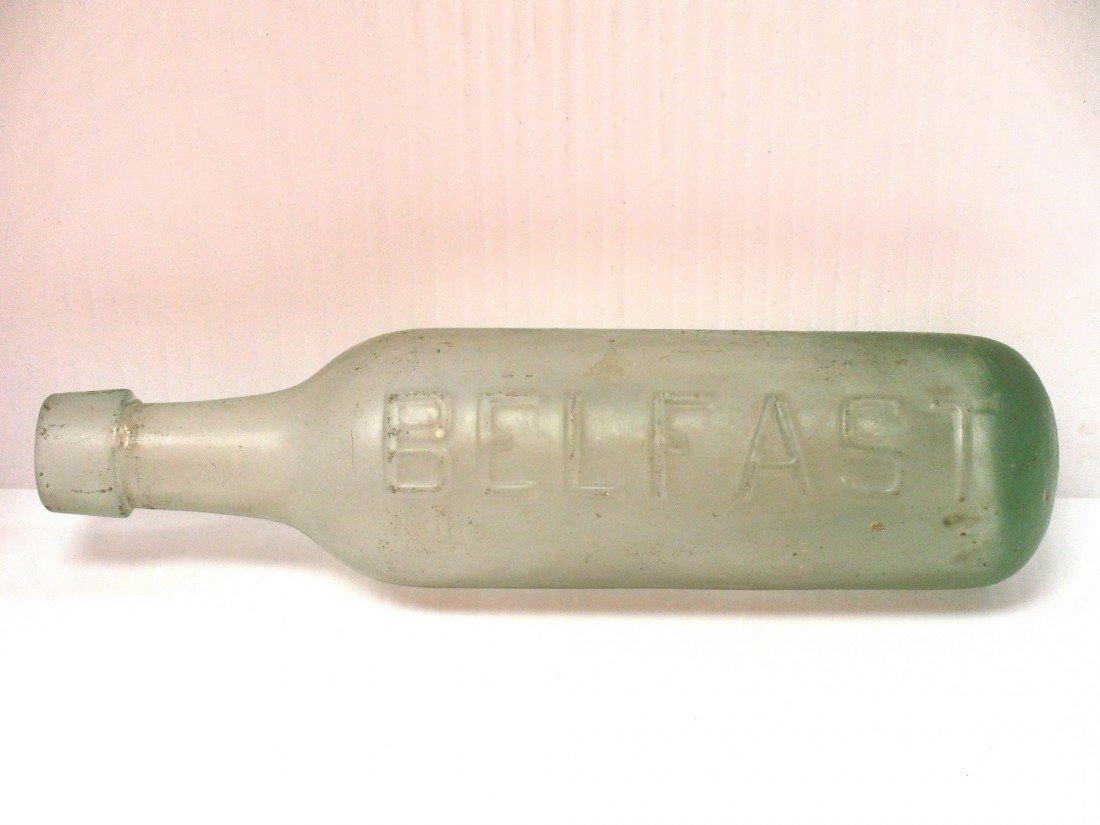 124: ross's belfast antique bottle - 2