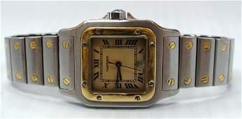 467: Cartier Santos wrist watch
