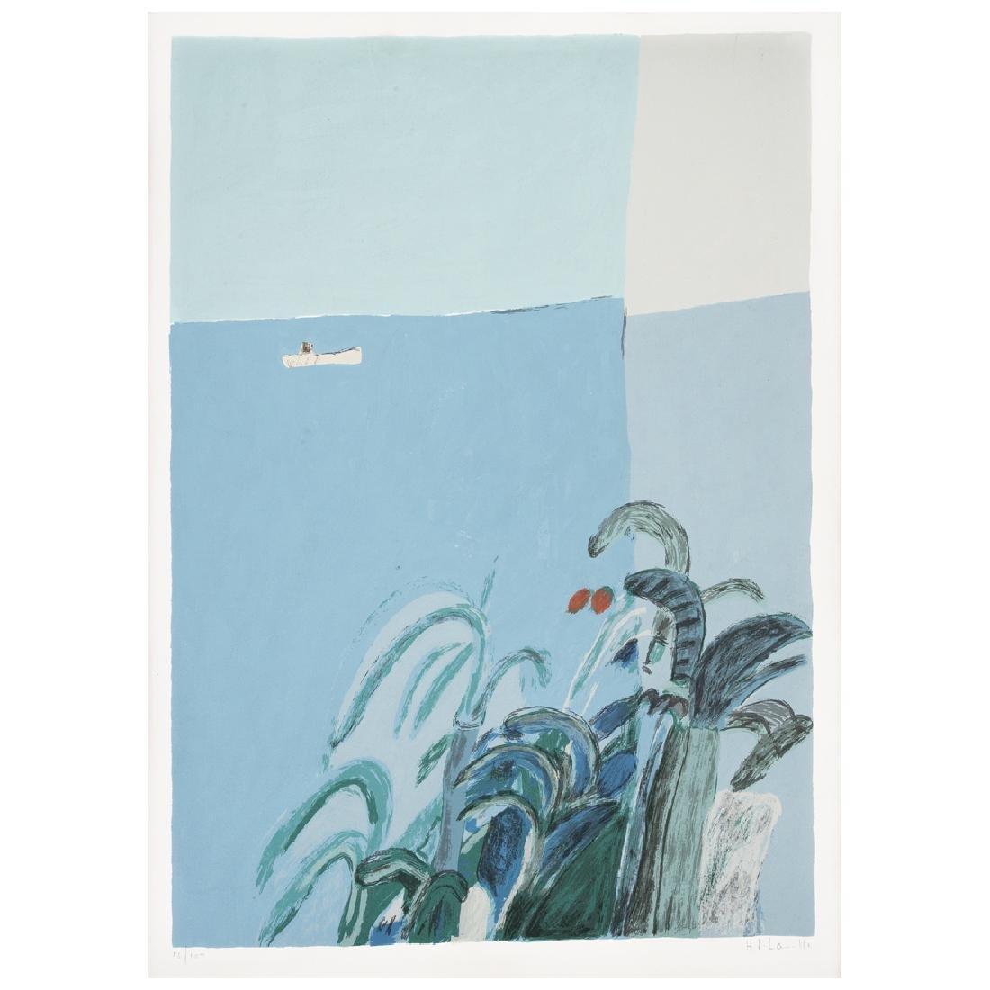 JOY LAVILLE, Untitled, Signed. Litograph 12/100, 55 x