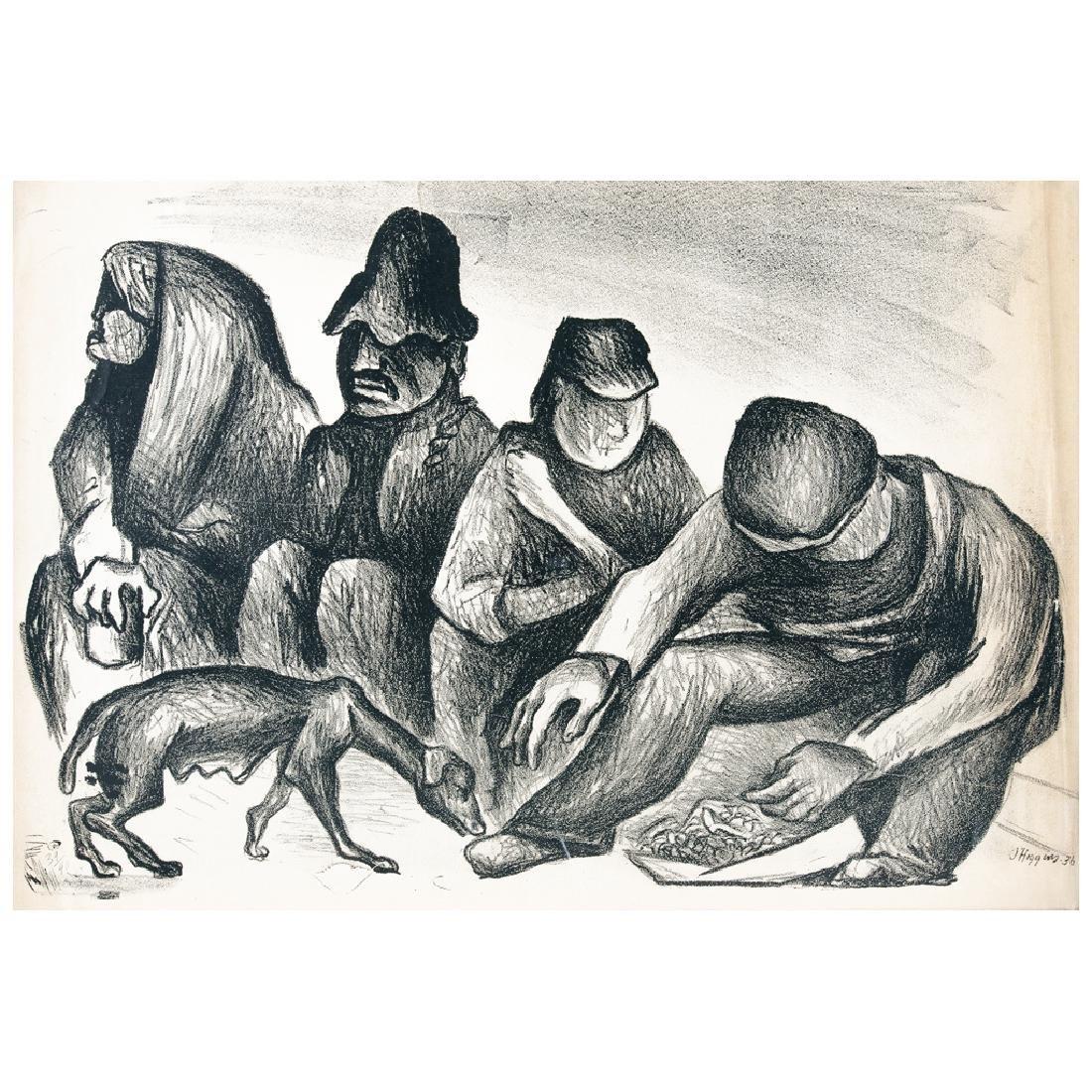 PABLO O HIGGINS, La perra hambre o vida de perros,
