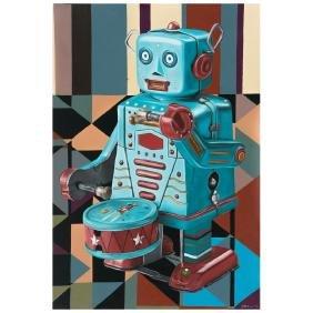 OMAR MANUECO, Robo drummer, From series Innocence lost,