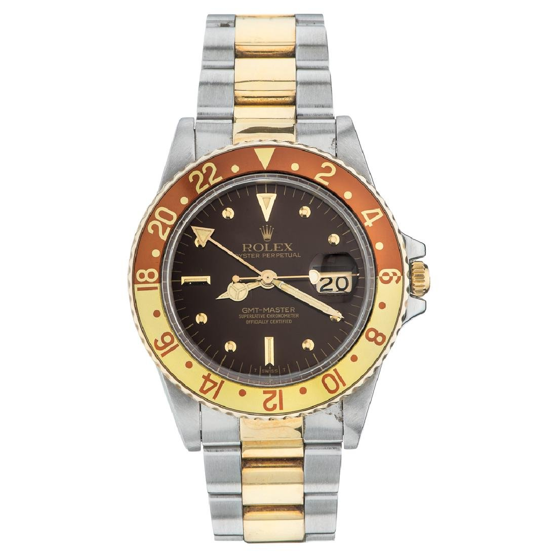 ROLEX OYSTER PERPETUAL GMT MASTER WRISTWATCH REF.