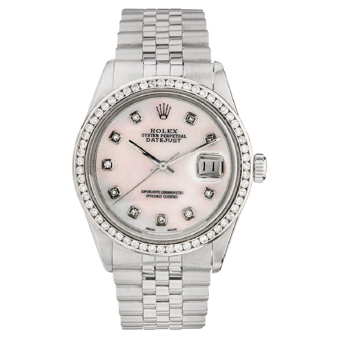 ROLEX OYSTER PERPETUAL DATEJUST WRISTWATCH REF. 16014,