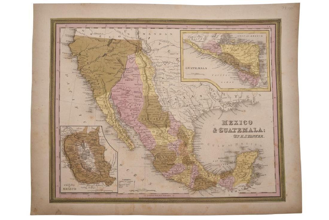 Tanner, H. S. Mexico & Guatemala. Philadelphia, 1845.