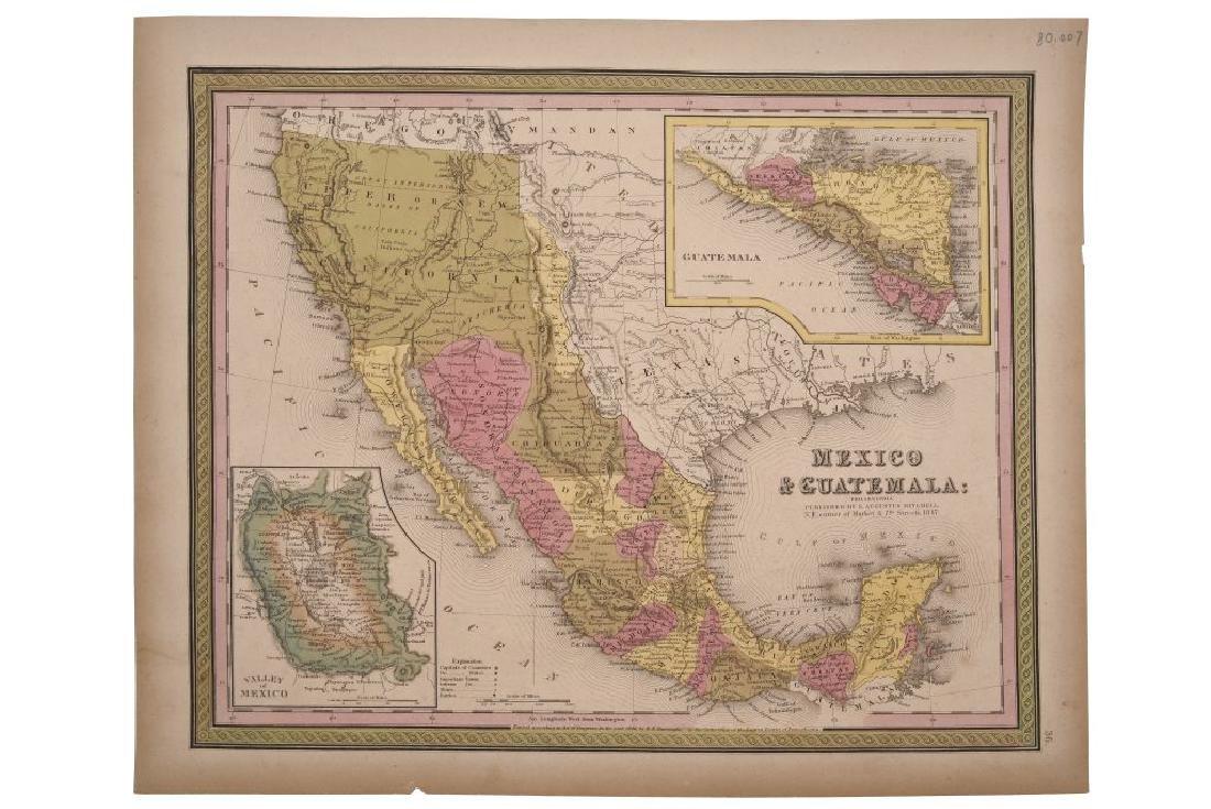 Mitchell, Agustus. Mexico & Guatemala. Philadelphia,