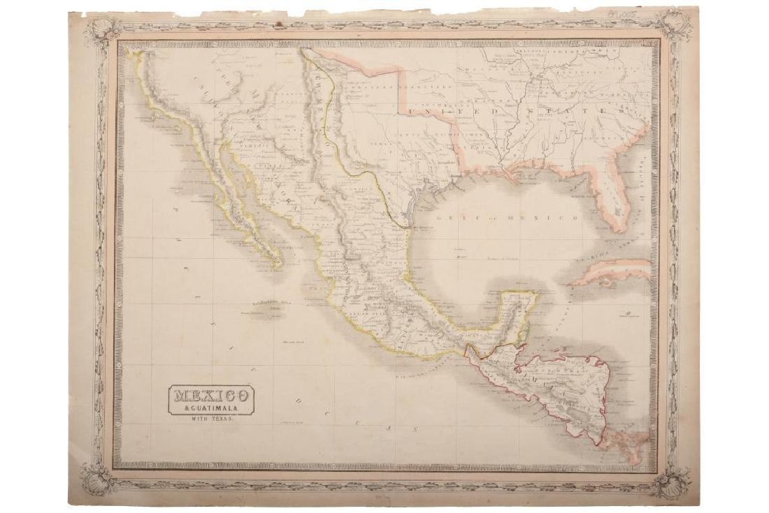 Lothian, John. Mexico & Guatemala With Texas. Glasgow,