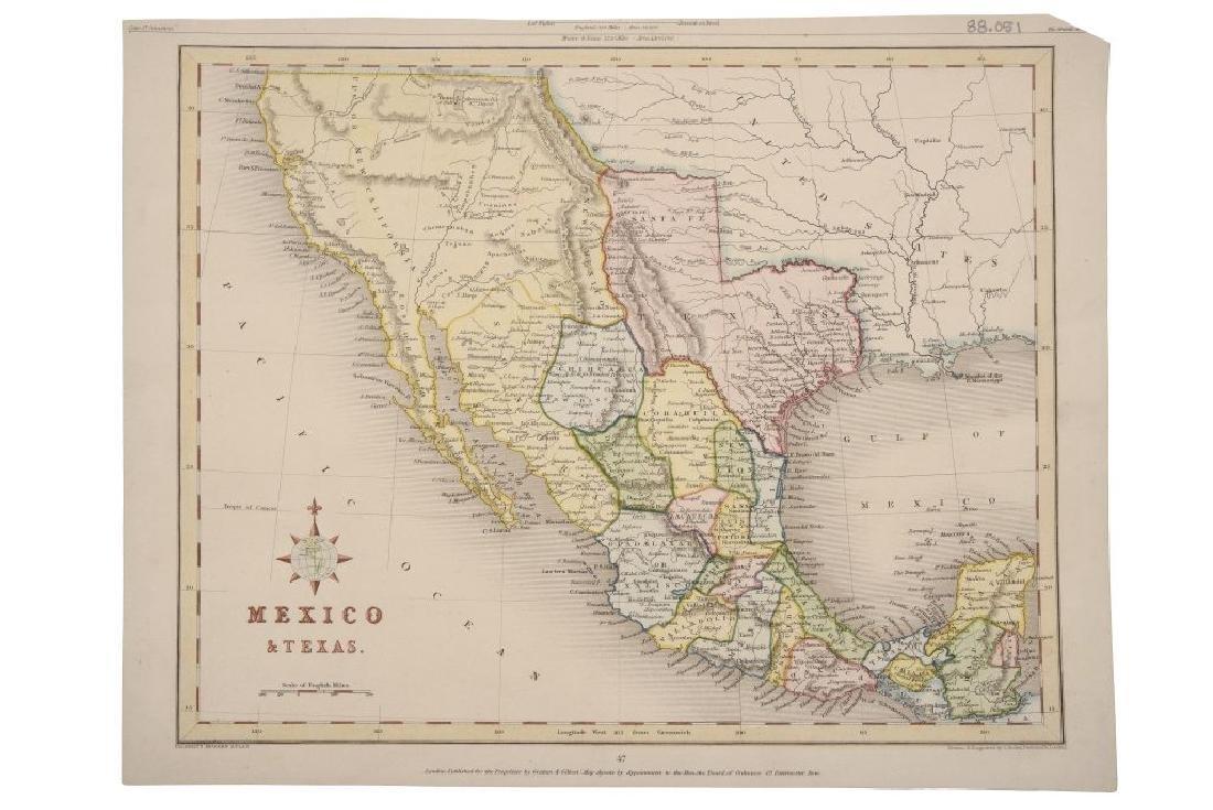 Archer, J. Mexico & Texas. London, ca. 1840. Engraved