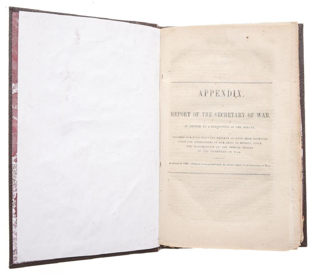 Appendix to the Report of the Secretary of War in