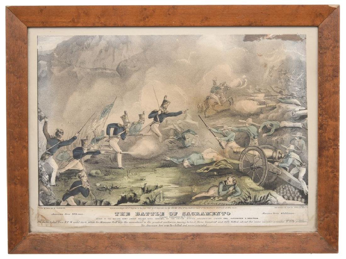 Currier, N. The Battle of Sacramento, fought February