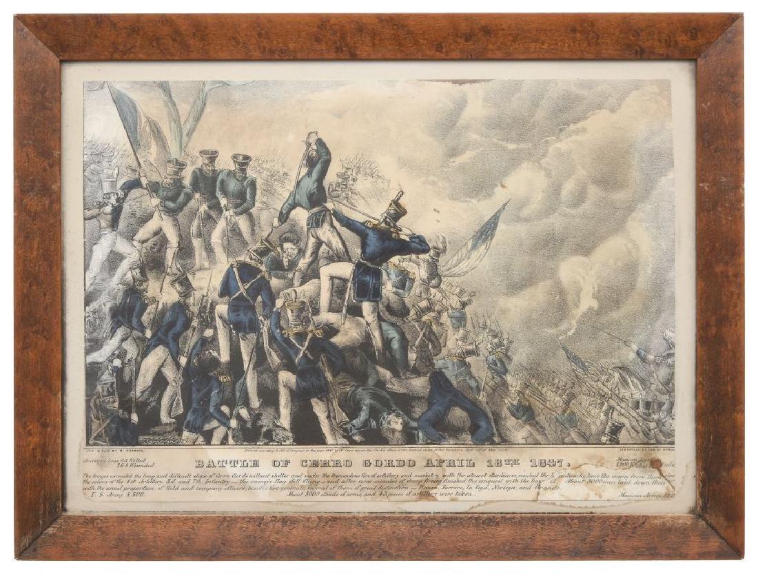 Currier, N. Battle of Cerro Gordo April 18th 1847.