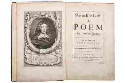 Milton, John. Paradise Lost a Poem in Twelve Books.