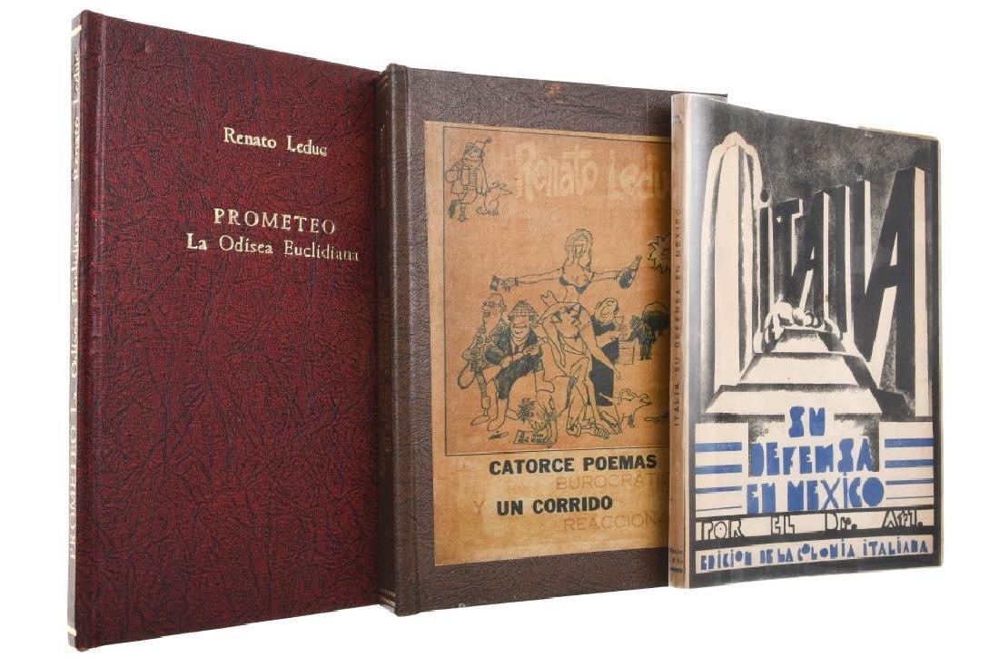 Dr. Atl / Leduc, Renato. La Defensa de Italia en Mexico