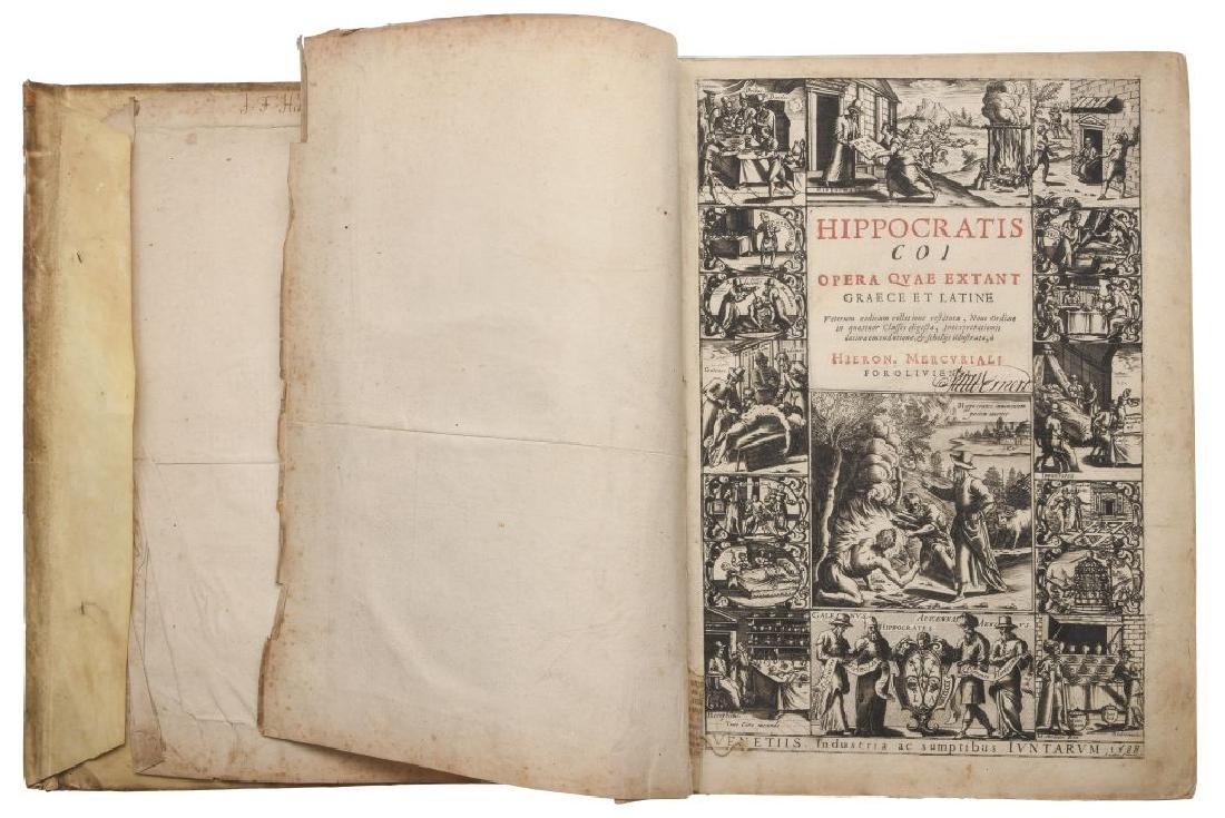 Hipocrates. Hippocratis coi Opera Quae Extant Graece et