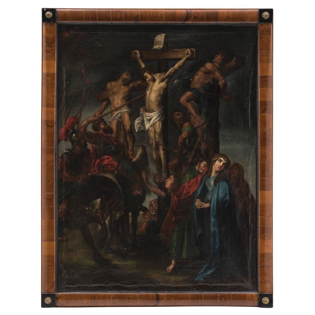 AFTER PETER PAUL RUBENS (FLEMISH, 1577-1640). CHRIST ON