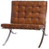 Ludwig Mies van der Rohe for Knoll. Pair of Barcelona