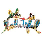 MR. BRAINWASH, Life is beautiful, Signed and dated